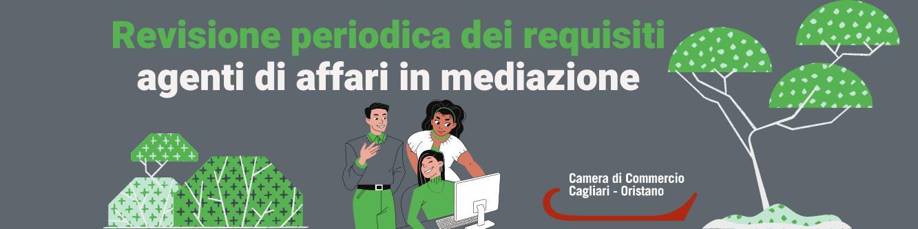 VERIFICA PERIODICA DEI REQUISITI PER ATTIVITA' DI MEDIAZIONE